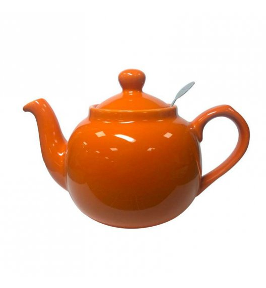 LONDON POTTERY Dzbanek do herbaty z filtrem FARMHOUSE FILTER 1,2 l pomarańczowy / FreeForm