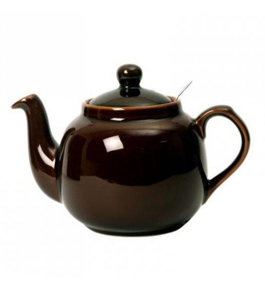 LONDON POTTERY Dzbanek do herbaty z filtrem FARMHOUSE FILTER 1,8 l czekoladowy / FreeForm