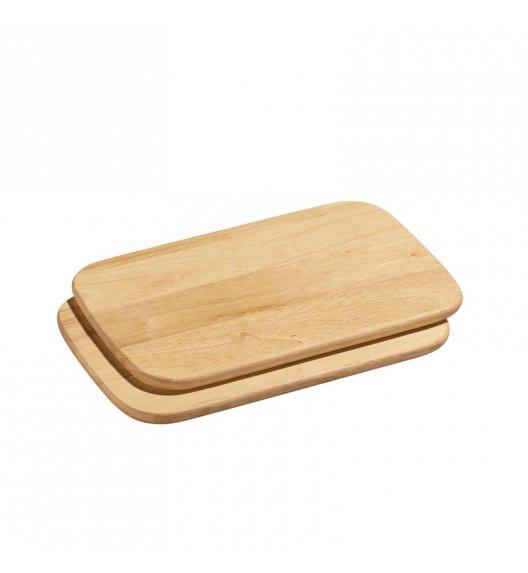 ZASSENHAUS Zestaw 2 desek do krojenia z drewna kauczukowego 26 × 17 cm / FreeForm