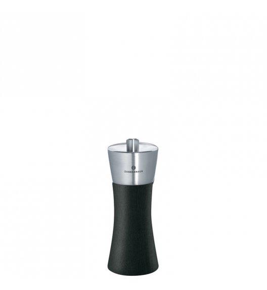 ZASSENHAUS Młynek do soli AUGSBURG ⌀ 5,5 x 14 cm, czarny / FreeForm
