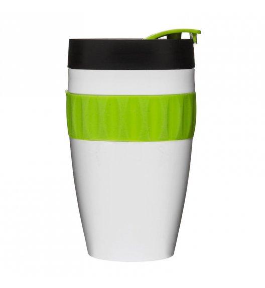 SAGAFORM Kubek termiczny CAFE biało-czarno-zielony, 0,4 l / FreeForm