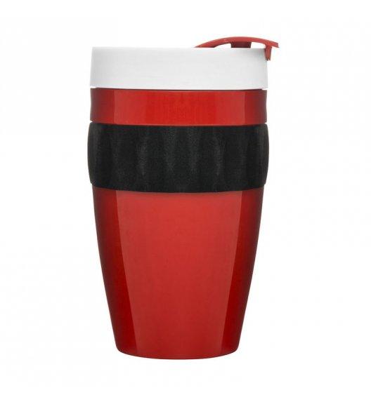 SAGAFORM Kubek termiczny CAFE czerwono-czarno-biały, 0,4 l / FreeForm
