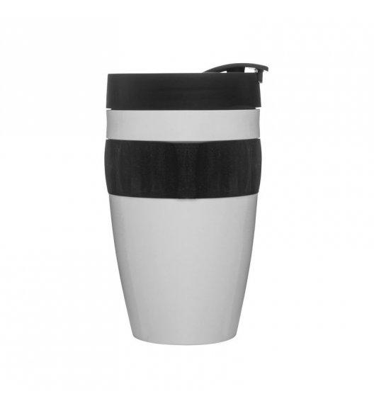 SAGAFORM Kubek termiczny CAFE czarno-biały, 0,4 l / FreeForm