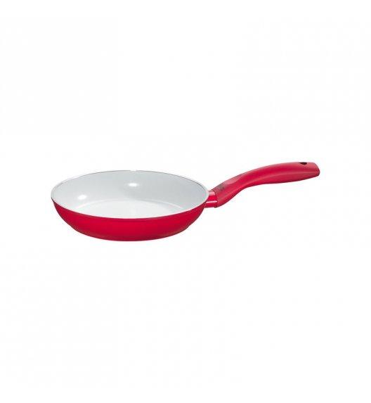 KUCHENPROFI Patelnia z powłoką ceramiczną 20 cm / czerwona / FreeForm