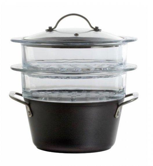 AMBITION MAGNAT Garnek 2,4 l do gotowania na parze 20 cm z powłoką ILAG Non-Stick Premium INDUKCJA / 20147