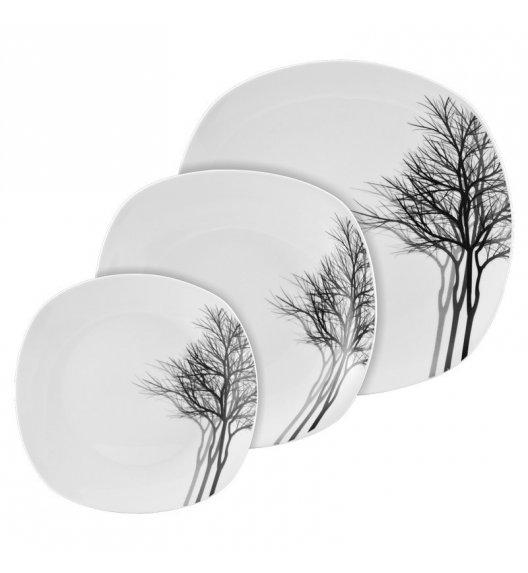 TADAR ZIMA Serwis obiadowy 18 elementów dla 6 osób / porcelana