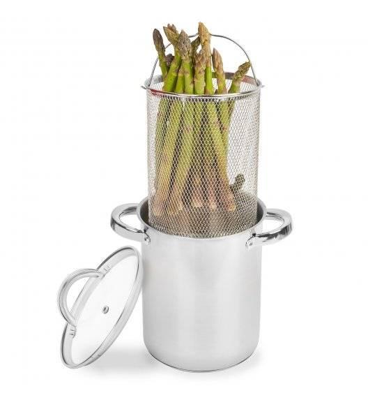 TADAR ASPARAGI WIelofunkcyjny garnek do szparagów + sitko 4 L / Indukcja