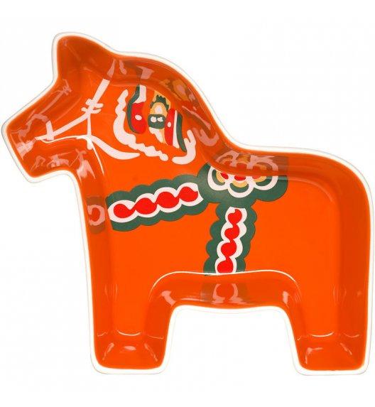 SAGAFORM ANIMAL Czerwona miseczka w kształcie konia do serwowania SWEDEN / FreeForm