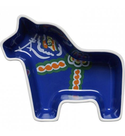 SAGAFORM ANIMAL Niebieska miseczka w kształcie konia do serwowania SWEDEN / FreeForm