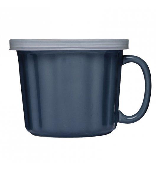 SAGAFORM CAFE Kubek na zupę z pokrywką 0,5 l KITCHEN niebieski 0,4 l / FreeForm
