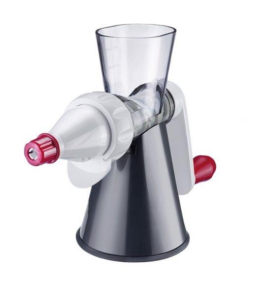 WESTMARK Sokowirówka ręczna z pojemnikiem na sok / stal nierdzewna