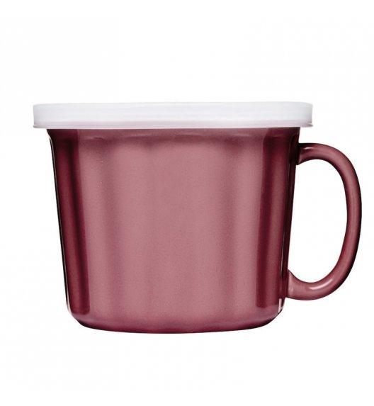 SAGAFORM CAFE Kubek na zupę z pokrywką 0,5 l KITCHEN różowy / FreeForm