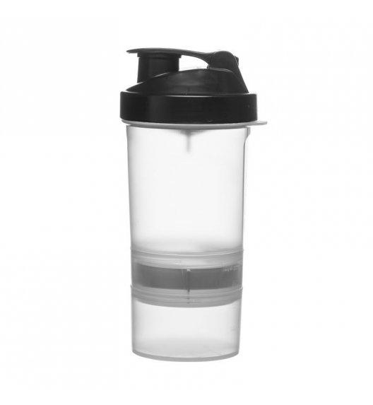 SAGAFORM Shaker TO GO na siłownię z przegrodami FRESH 22 cm / FreeForm