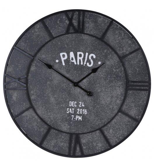 WYPRZEDAŻ! CEMENT LOOK PARIS Zegar ścienny ø 75 cm / Płyta MDF / Koopman