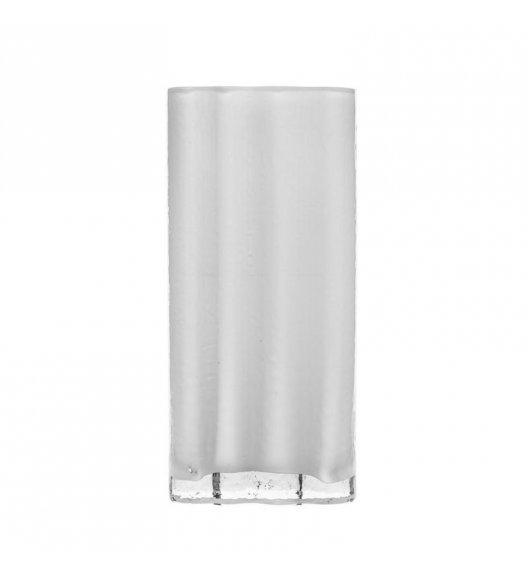 SAGAFORM INTERIOR Wazon szklany SEA 26 cm mleczne szkło / FreeForm