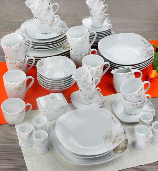PROMOCJA! ARZBERG ASANTE Niemiecki serwis obiadowo-kawowy 62 el / 6 os / porcelana