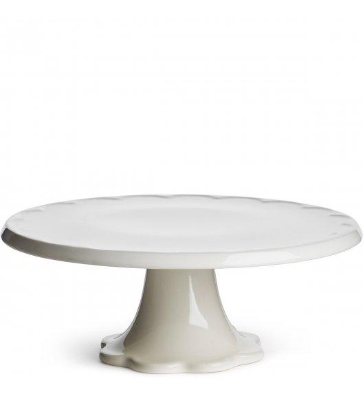 SAGAFORM Ceramiczna patera na ciasto biała ⌀ 28 cm PICCADILLY / FreeForm