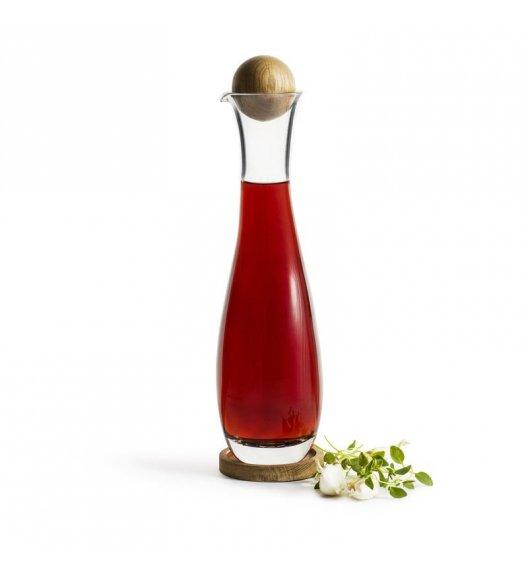 SAGAFORM Szklana karafka z dębowym korkiem do octu i oliwy 0,45 l NATURE / FreeForm
