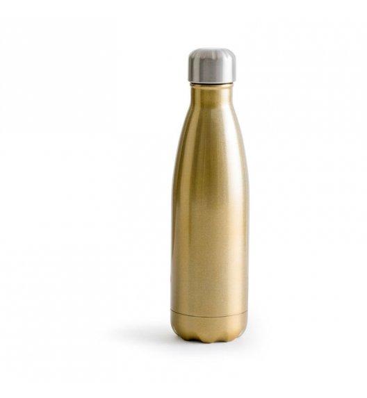 SAGAFORM TO GO Termiczna butelka stalowa złota 0,5 l