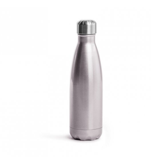 SAGAFORM TO GO Termiczna butelka stalowa różowa 0,5 l