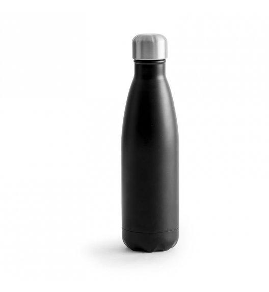 SAGAFORM TO GO Termiczna butelka stalowa czarna 0,5 l