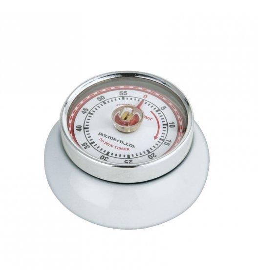 ZASSENHAUS SPEED Timer mechaniczny ⌀ 7 cm biały / FreeForm