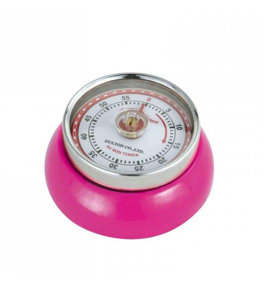 ZASSENHAUS SPEED Timer mechaniczny ⌀ 7 cm magenta / FreeForm