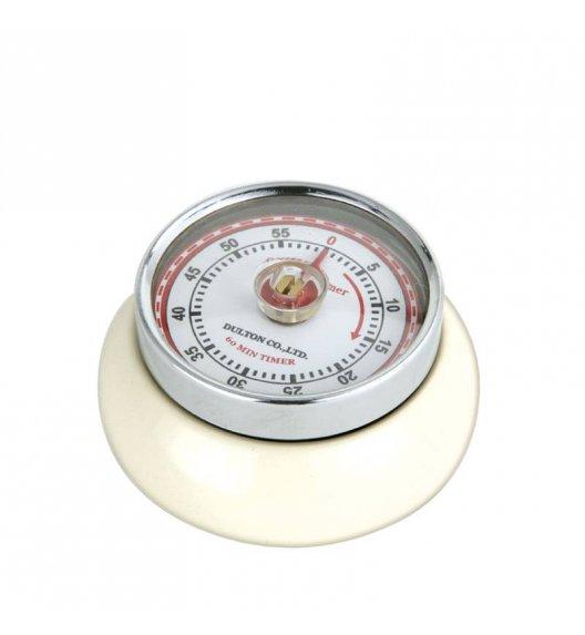 ZASSENHAUS SPEED Timer mechaniczny ⌀ 7 cm kremowy / FreeForm
