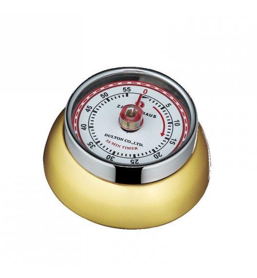 ZASSENHAUS SPEED Timer mechaniczny ⌀ 7 cm złoty / FreeForm