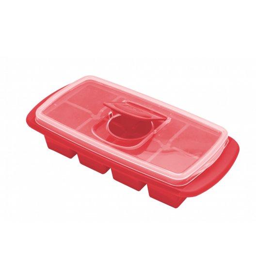 MSC Foremka do lodu z pokrywką 22 x 13 x 5,5 cm / czerwona / FreeForm
