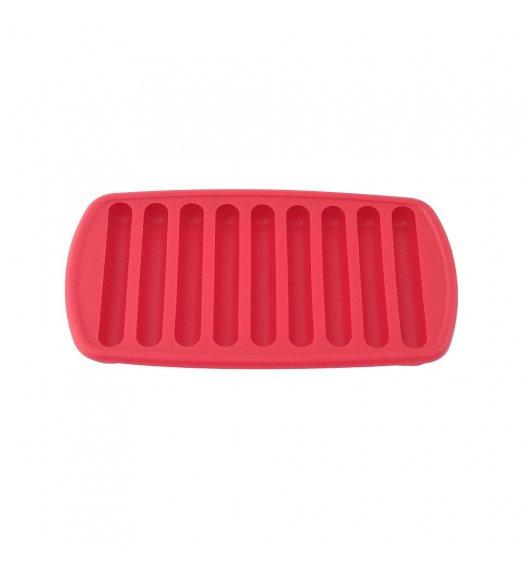 MSC Foremka do podłużnych kostek lodu 21 x 11 cm / czerwona / FreeForm