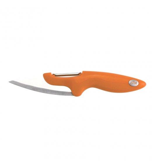 MSC Nóż z obierakiem do warzyw 20 cm pomarańczowy / FreeForm