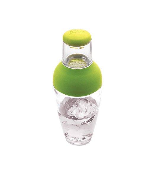 MSC Shaker barmański 23 cm zielony / szkło / FreeForm