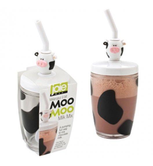 MSC MOO MOO Szklanka do kakao z mieszadłem i słomką 250 ml / FreeForm