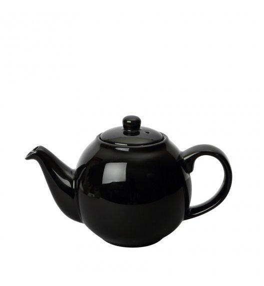LONDON POTTERY Dzbanek do herbaty GLOBE 0,5 l czarny / FreeForm