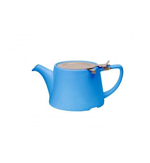 LONDON POTTERY Dzbanek z filtrem i tacką do ociekania 750 ml OVAL niebieski / FreeForm