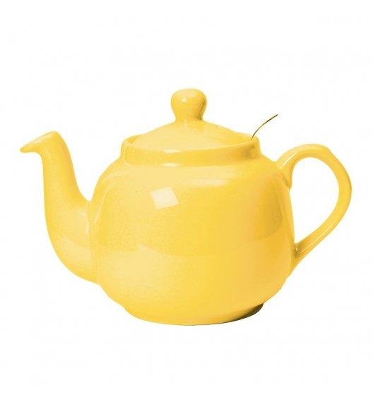 LONDON POTTERY Dzbanek do herbaty 0,6 L FARMHOUSE FILTER żółty / FreeForm