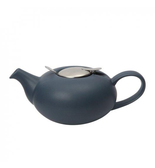 LONDON POTTERY Dzbanek do herbaty z filtrem 0,5 L PEBBLE granatowy / FreeForm