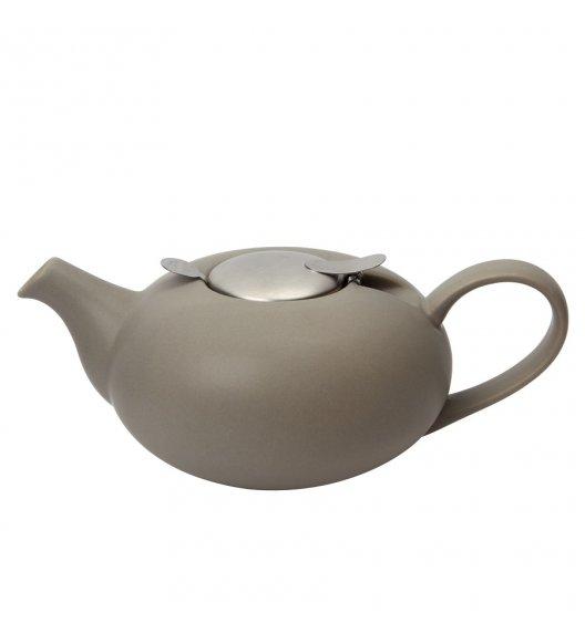 LONDON POTTERY Dzbanek do herbaty z filtrem 0,5 L PEBBLE szary / FreeForm