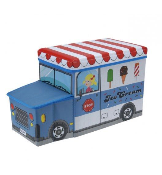 WYPRZEDAŻ! EH EXCELLENT HOUSEWARE Pojemnik / pufa do przechowywania dla dzieci Ice Cream 47L  / Koopman