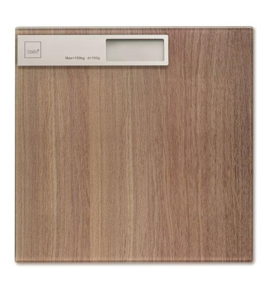 KELA OAK Waga łazienkowa 30 x 30 cm / drewno dębowe