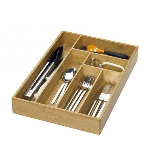 LURCH Drewniany wkład na sztućce i przybory kuchenne / drewno bambusowe / FreeForm