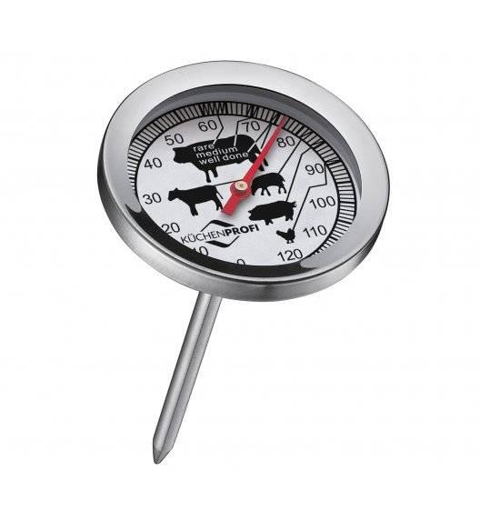 KUCHENPROFI Termometr do pieczeni ⌀ 5,5 cm / stal nierdzewna / FreeForm