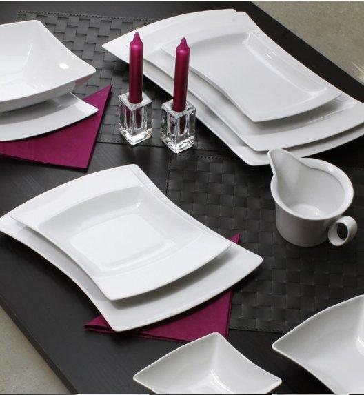 PROMOCJA! LUBIANA WING Serwis obiadowy 44 el / 12 osób porcelana + GRATIS! 49 ZŁ