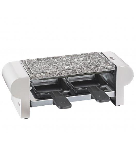 KUCHENPROFI Raclette / grill stołowy dla 2 osób, biały / stal nierdzewna FreeForm