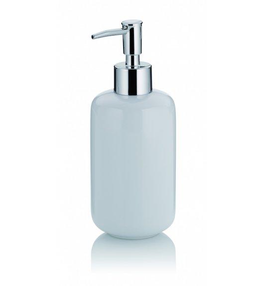 KELA ISABELLA Ceramiczny dozownik na mydło w płynie ⌀ 7,5 cm / biały