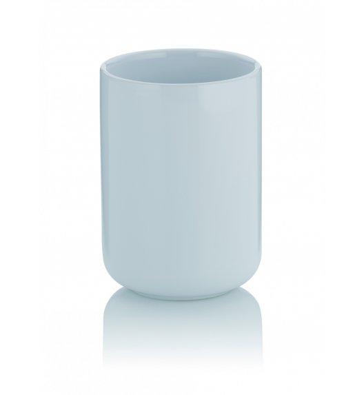 KELA ISABELLA Ceramiczny kubek łazienkowy ⌀ 7,5 cm / biały