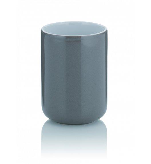 KELA ISABELLA Ceramiczny kubek łazienkowy ⌀ 7,5 cm / szary