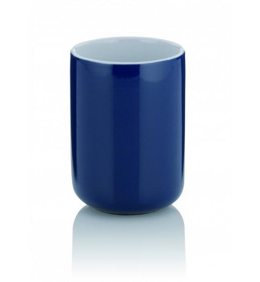 KELA ISABELLA Ceramiczny kubek łazienkowy ⌀ 7,5 cm / granatowy