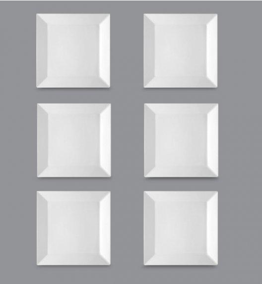 LUBIANA CLASSIC Komplet Talerze deserowe 21,5 cm / 6 el / 6 os / porcelana